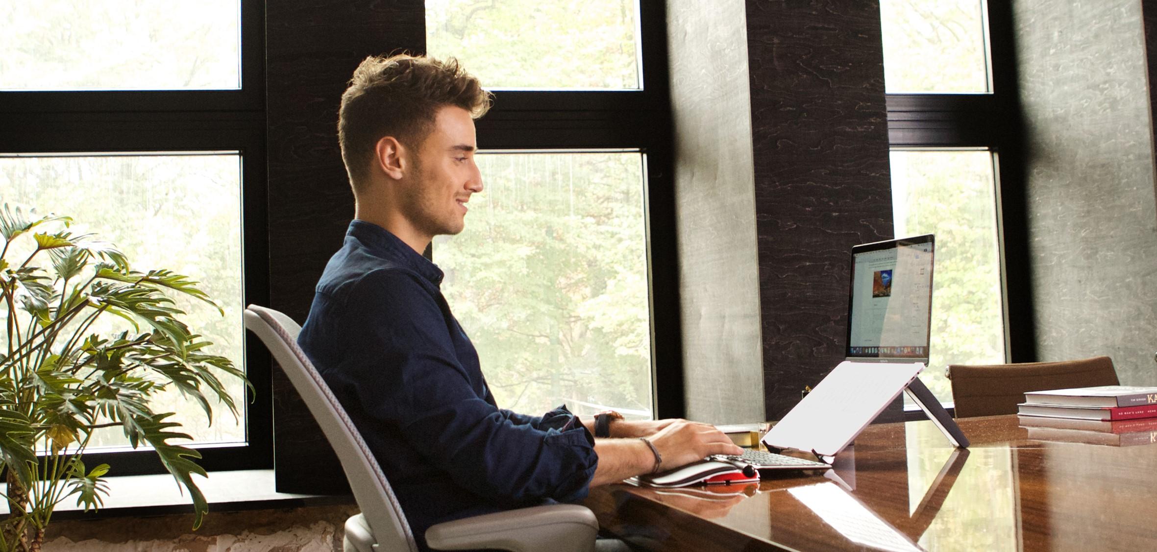 Contour Design travel kit for den fleksible arbeidsstasjonen